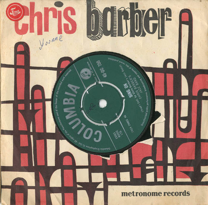Albumcover Chris Barber - Sing On / Goin To Town