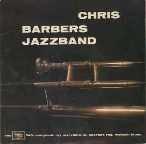 Albumcover Chris Barber - Chris Barbers Jazzband (EP)