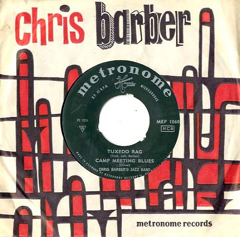 Albumcover Chris Barber - Tuxedo Rag /Brown Skin Mama