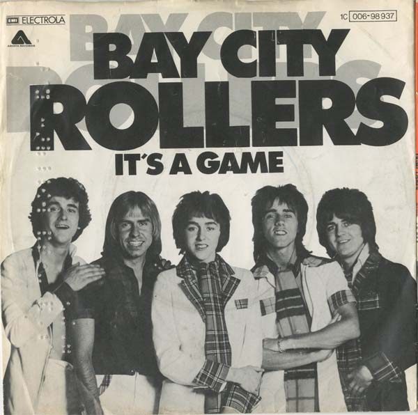 Albumcover Bay City Rollers - It s A Game / Dance Dance Dance