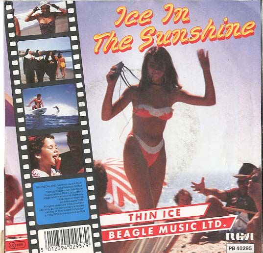 Albumcover Beagle Music Ltd. - Ice in The Sunshine / Thin Ice