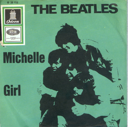 Albumcover The Beatles - Michelle / Girl