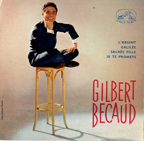 Albumcover Gilbert Becaud - Gilbert Becaud (EP)