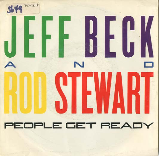 Albumcover Jeff Beck - Jeff Beck and Rod Stewart: People Get Ready (4:50) + Back On the Street (Jeff Back und Karen Lawrence)