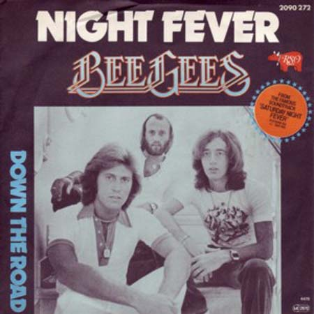 Albumcover The Bee Gees - Night Fever / Down The Road