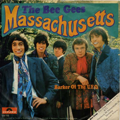 Albumcover The Bee Gees - Massachusetts / Barker Of The U.F.O.
