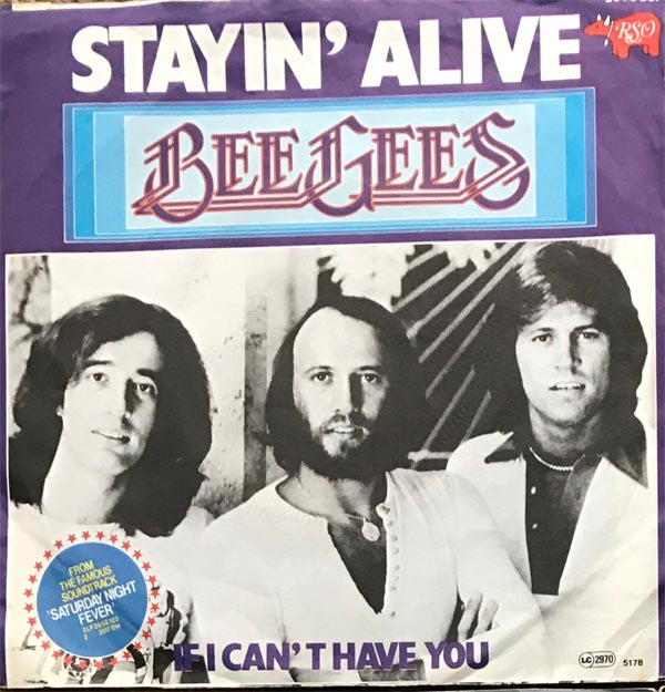 Albumcover The Bee Gees - Staying Alive / If I Cant Have You