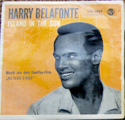 Albumcover Harry Belafonte - Island in the Sun (EP)
