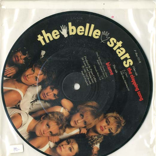 Albumcover The belle stars - Blame /The Clapping Song  (Picture Disc)