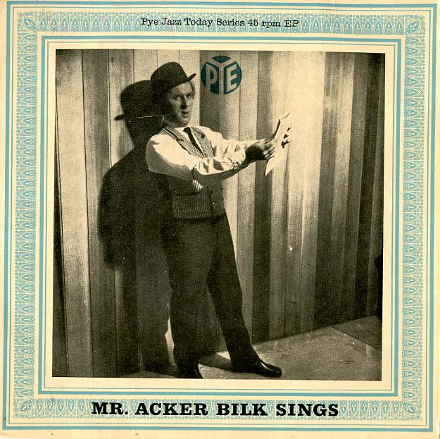 Albumcover Mr. Acker Bilk - Mr. Acker Bilk sings