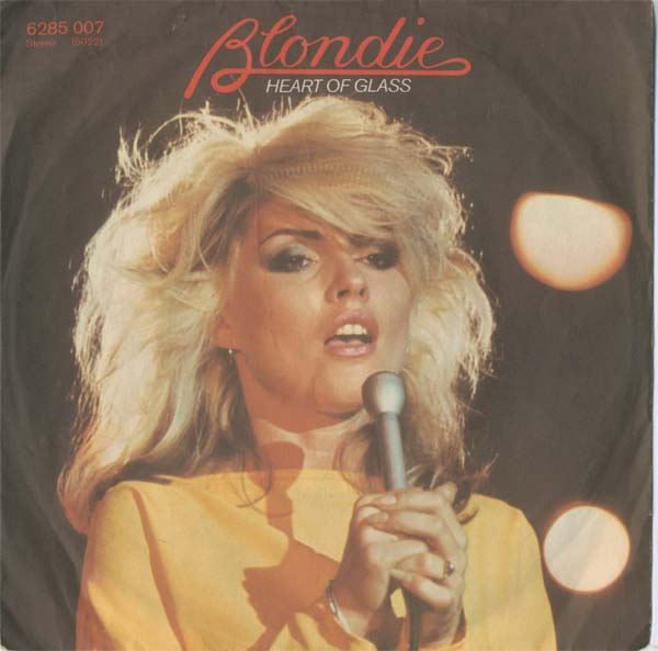 Albumcover Blondie - Heart of Glass / Rifle Range (NUR COVER !)