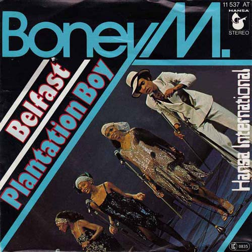 Albumcover Boney M. - Belfast / Plantation Boy