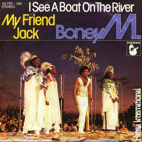 Albumcover Boney M. - I See A Boat On The River / My Friend Jack
