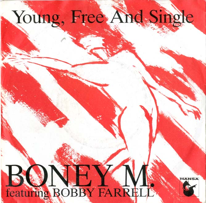 Albumcover Boney M. - Young, Free and Single / Blue Beach