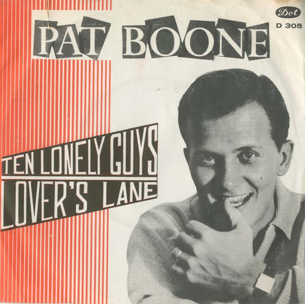 Albumcover Pat Boone - Lovers Lane / Ten Lonely Guys