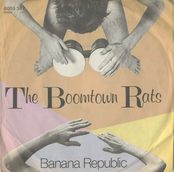 Albumcover The Boomtown Rats - Banana Republic / Man at the Top
