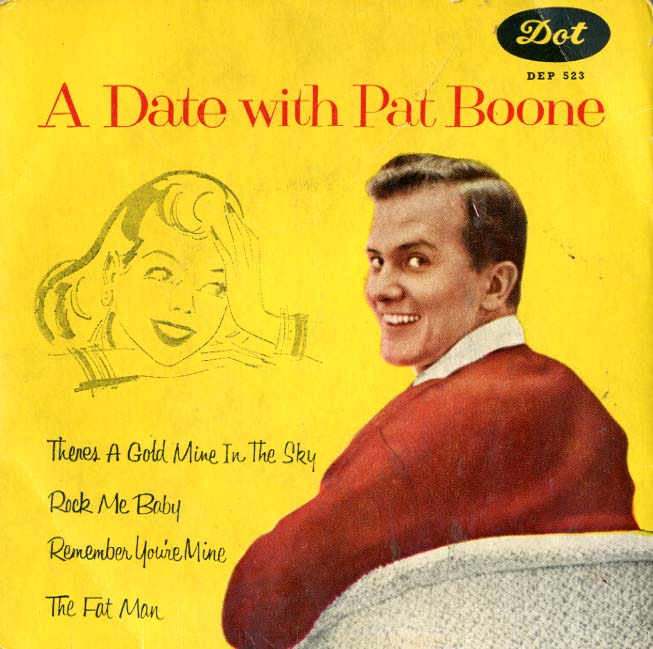 Albumcover Pat Boone - A Date With Pat Boone (EP)
