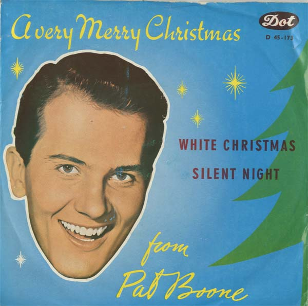 Albumcover Pat Boone - White Christmas / Silent Night