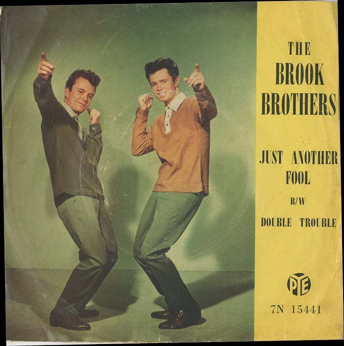 Albumcover The Brook Brothers - Just Another Fool / Double Trouble