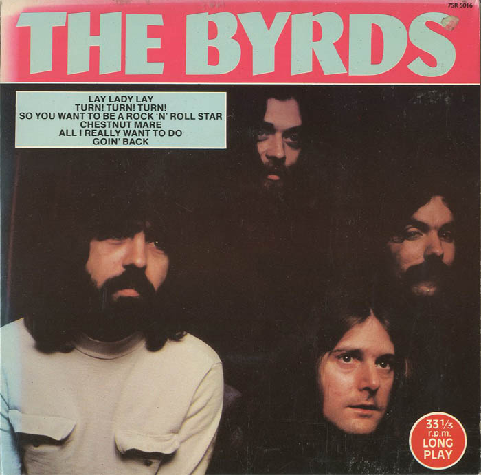 Albumcover The Byrds - The Byrds (33 1/3 r.p.m. LONG PLAY)