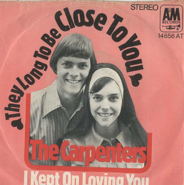 Albumcover The Carpenters - Close To You / I Kept On Loving You