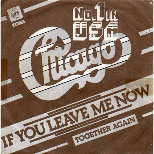 Albumcover Chicago (Band) - If You Leave Me Now / Together Again