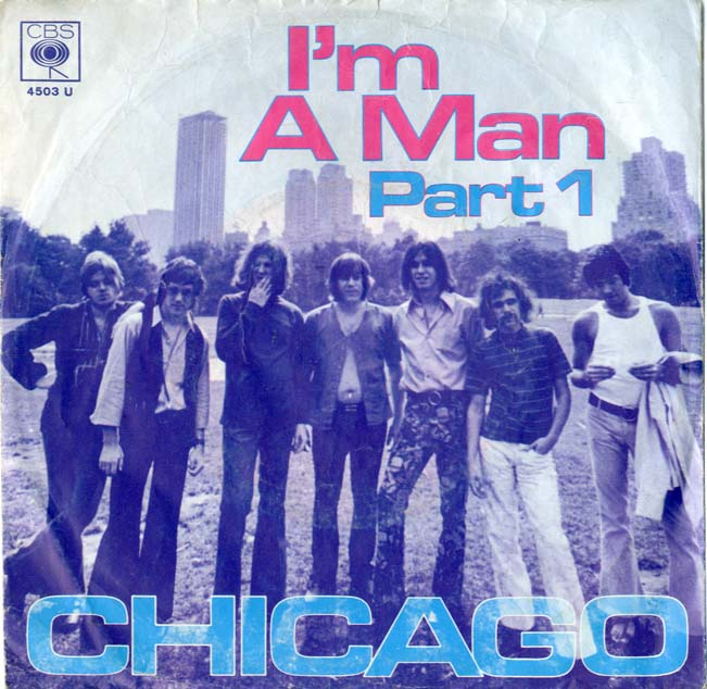 Albumcover Chicago (Band) - I´m a Man  Part 1 + 2
