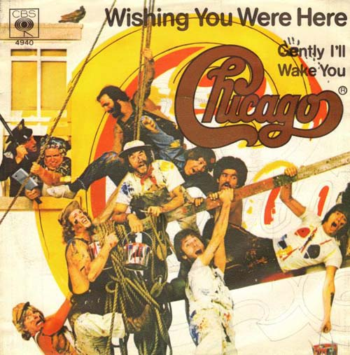 Albumcover Chicago (Band) - Wishing You Were Here / Gently I´ll Wake You