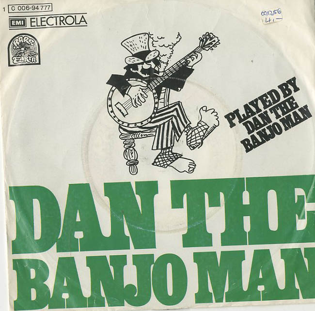 Albumcover Dan the Banjo Man (Phil Cordell) - Dan The Banjo Man / Everything Will Rhyme