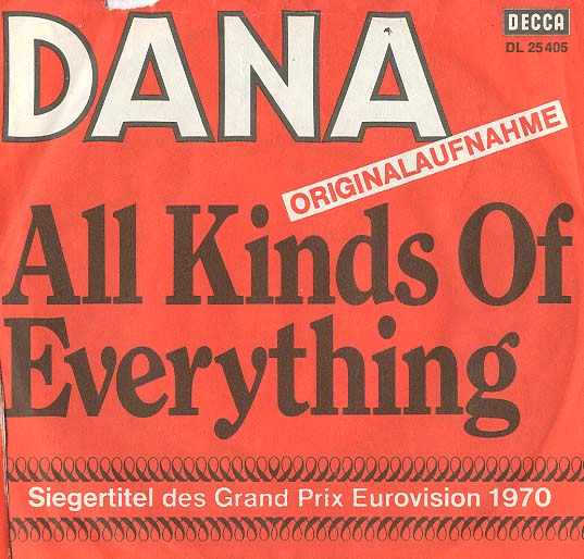 Albumcover Dana - All Kinds of Everything / Channel Breeze