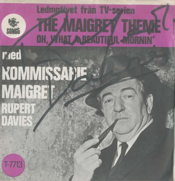 Albumcover Rupert Davies - The Maigret Theme / Oh What A Beautiful Morning