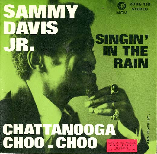 Albumcover Sammy Davis Jr. - Singin In the Rain / Chattabooga-Choo-Choo
