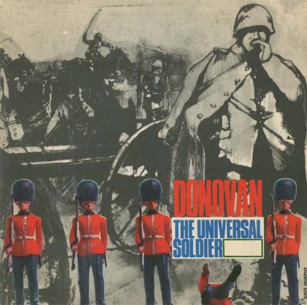 Albumcover Donovan - The Universal Soldier (EP)