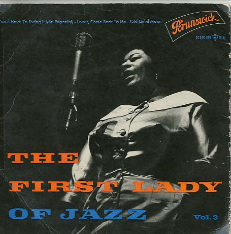 Albumcover Ella Fitzgerald - The First Lady of Jazz Vol. 3