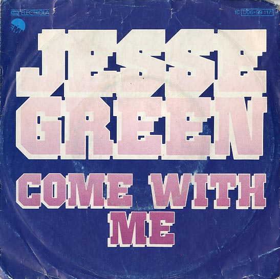 Albumcover Jesse Green - Come with me (Vocal / instrumental)
