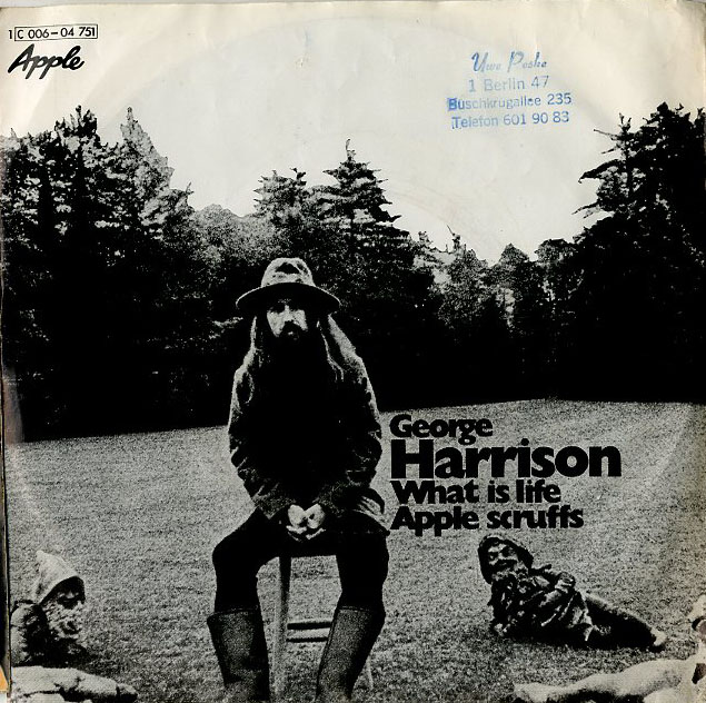 Albumcover George Harrison - What Is Life / Apple Scruffs