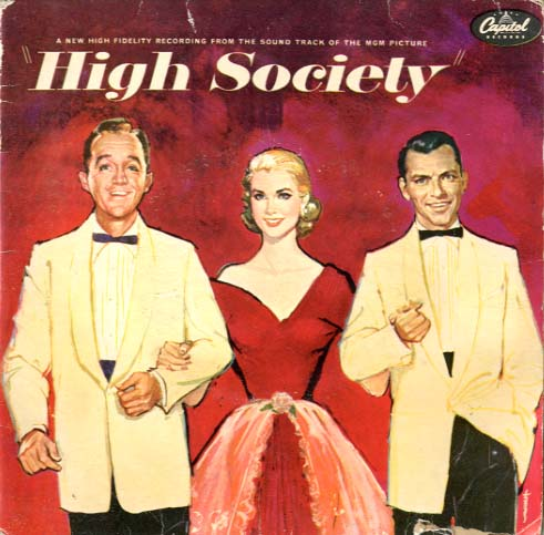 Albumcover High Society (Bing Crosby, Grace Kelly, Frank Sinatra) - High Society (EP)