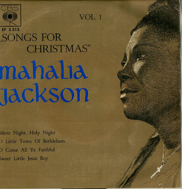 Albumcover Mahalia Jackson - Songs For Christmas Vol. 1 (EP)