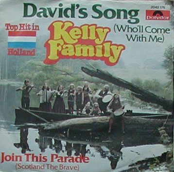 Albumcover Kelly Family - Davids Song  (Who Will Come With Me) / Knick-Knack-Song (This Old Man)