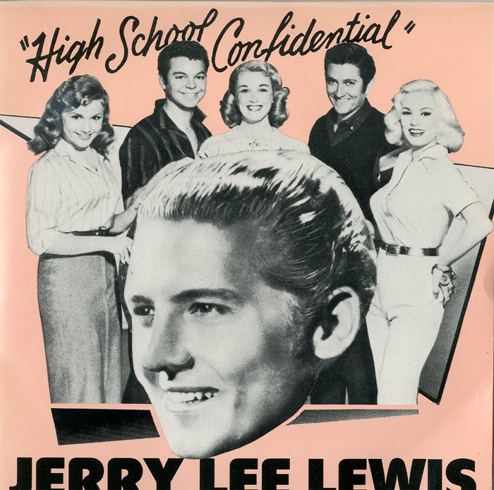 Albumcover Jerry Lee Lewis - High School Confidential (EP)