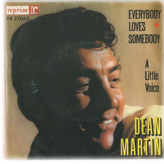 Albumcover Dean Martin - Everybody Loves Somebody / A Little Voice