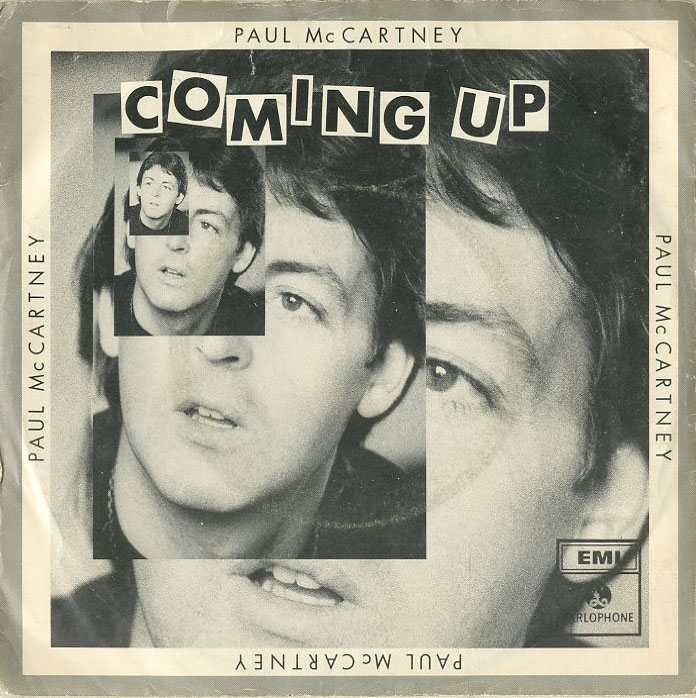 Albumcover Paul McCartney - Coming Up / Coming Up (Live at Glasgow) / Lunch Box - Odd Sox