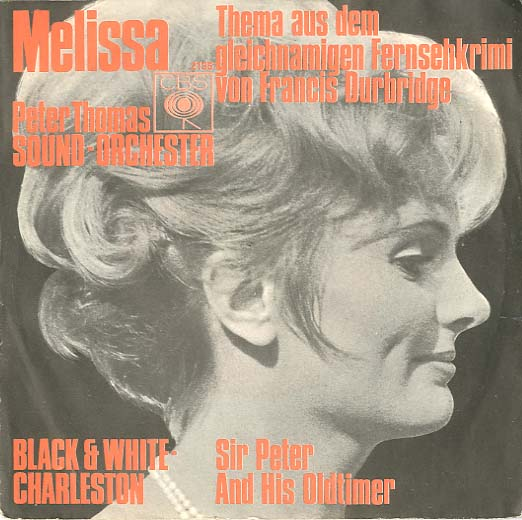 Albumcover Peter Thomas - Melissa / Black & White Charleston