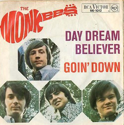 Albumcover The Monkees - Day Dream Believer / Goin Down