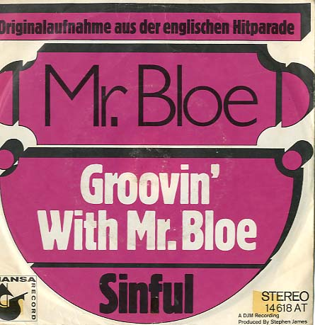 Albumcover Mr. Bloe - Groovin With Mr. Bloe / Sinful