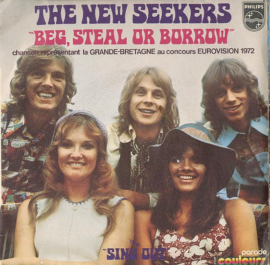 Albumcover The New Seekers - Beg Steal or Borrow / Sing Out