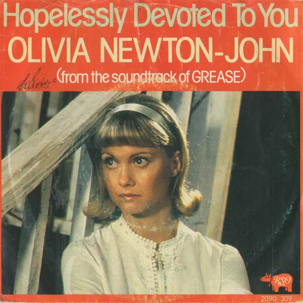 Albumcover Olivia Newton-John - Hopelessly Devoted To You / Love Is A Many Splendored Thing (Instr.)