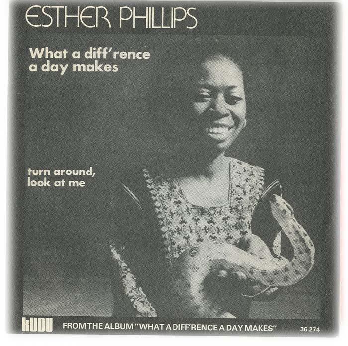 Albumcover Esther Phillips - What A Difference A Day Makes / Turn Around Look At Me