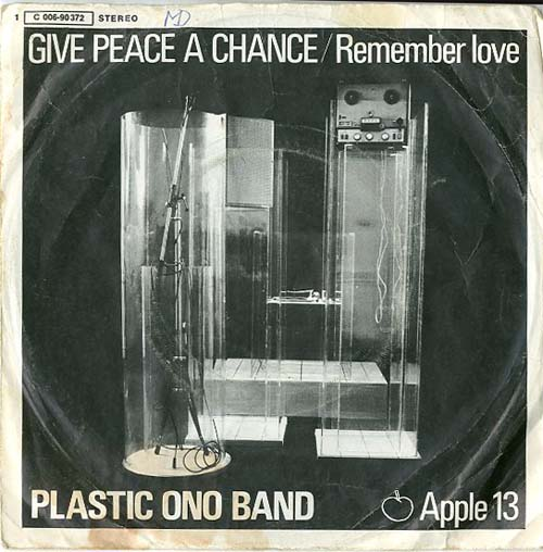 Albumcover John Lennon und Yoko Ono (Plastic Ono Band) - Give Peace A Chance / Remember Love