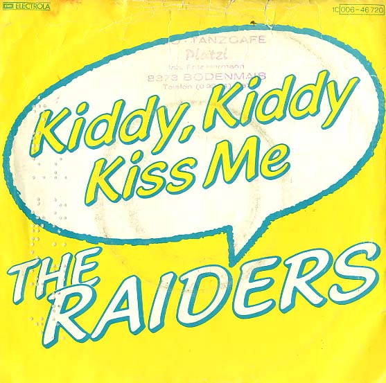 Albumcover Florian Haidt (Raiders) - Kiddy, Kiddy Kiss Me / Kiddy, Kiddy Kiss Me ( Playback + Chor )